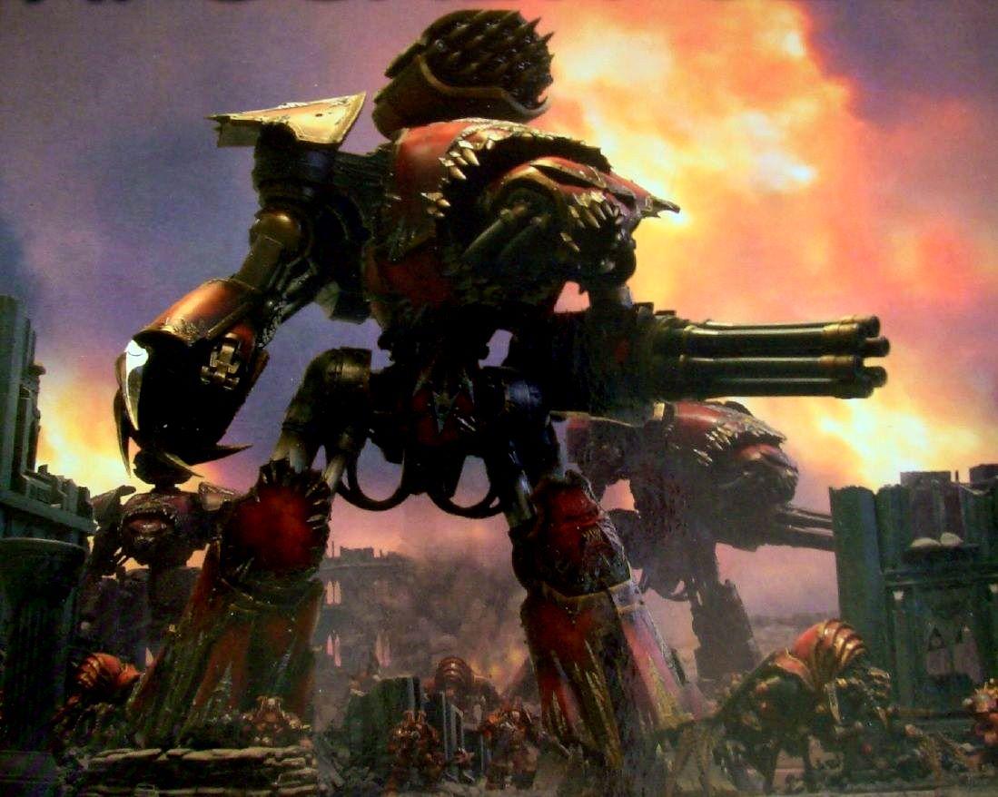 Warlordclass Titan  Warhammer 40k  FANDOM powered by Wikia