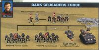 Dark Crusaders 3rd Edition diorama