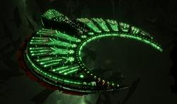 Necron Cairn-class Tomb Ship