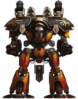 Legio Magna Warlord Titan