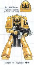 Tactical Marine Angels of Vigilance Index Astartes illustration