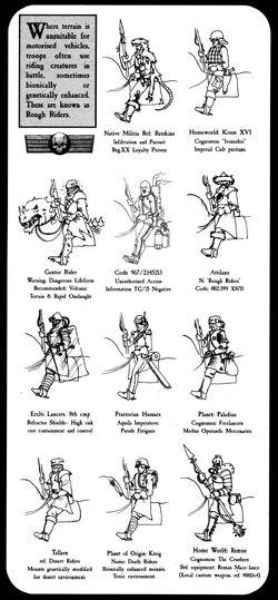 Rough Rider Regiments
