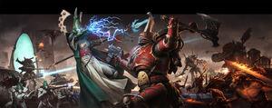 Eldar vs chaos