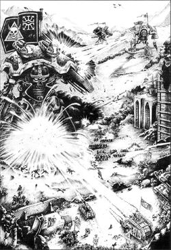 Ultramarines Space Wolves vs. Traitors