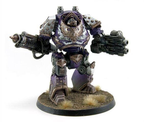 File:Emperor's Children Legion Comptemptor Dreadnought.jpg