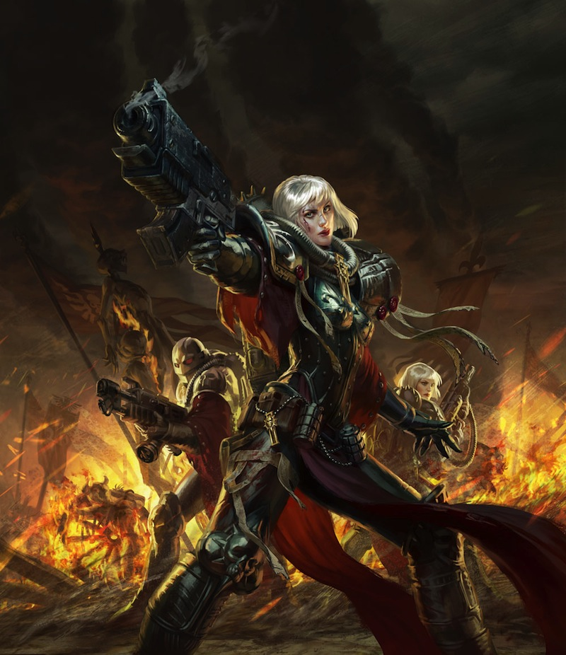Image result for adepta sororitas