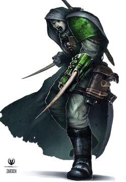 Marine Zartath former Black Dragon