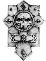 Crux Terminatus Captain Badge