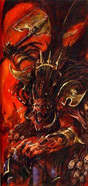 Daemon Prince Angron by Alex Boyd