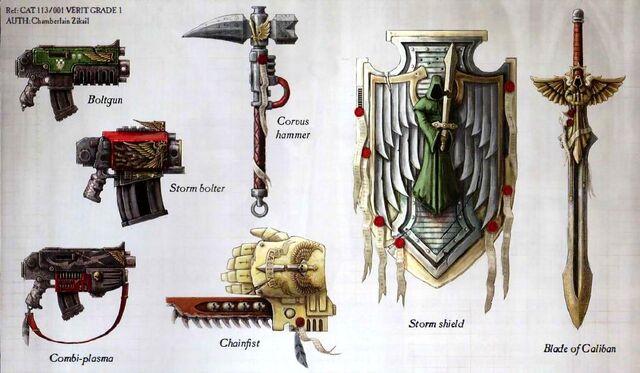 File:Dark Angels Weapons.jpg
