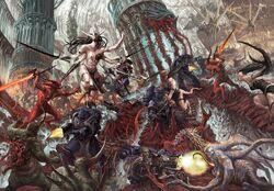 Demonic invasion