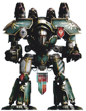 Legio Krytos Warlord Titan