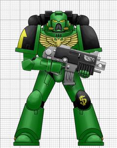 Salamanders Armor