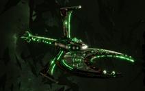 Necron Scythe-class Reaper Battlecruiser
