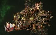 Ork Battleship (Deadnot)