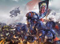 Crimson Fists vs Black Legion