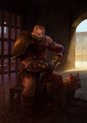 Angron gladiator