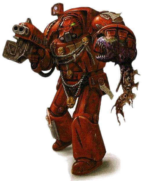 "C ! GW 1990 S WH40k /""le chaos space marines terminator/"""