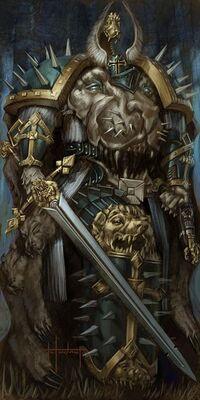 Pre heresy lion el johnson