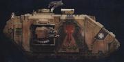 A Macragge Pattern Land Raider Prometheus of the Minotaurs