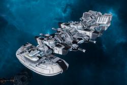 Il'fannor (Merchant)-class Starship