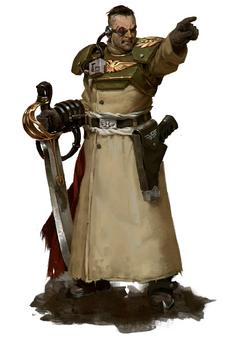 Cadian Officer 1