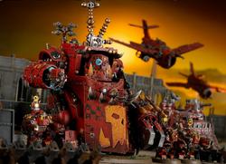 Morkanaut battle