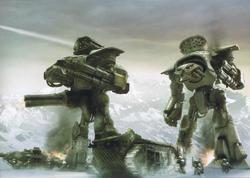 Reaver Battle Titans