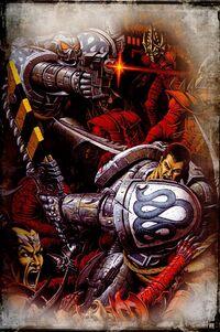 Iron Snakes vs. Dark Eldar Kabal