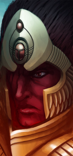 Magnus The Red Portrait