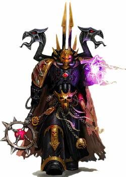 Black Legion Chaos Sorcerer