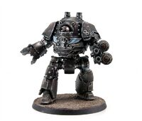 Iron Hands Contemptor Pattern Dreadnought