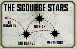 Scourge Stars Detailed Map