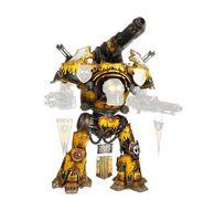 Warbringer Nemesis Titan with Quake Cannon