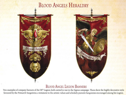 Blood Angels heraldry
