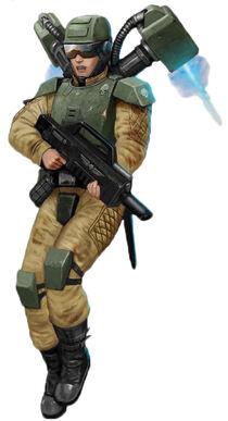 Elysian Drop Troops grav-chute