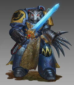 Space Wolves Wolf Guard