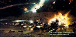 Red Scorpions Invasion of Decabulus