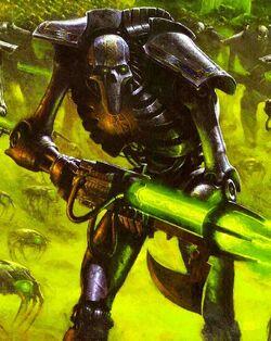 Necron Warrior army