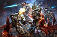 Grey Knights vs Daemons
