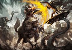 Harald Deathwolf vs. Tzeentch Daemons