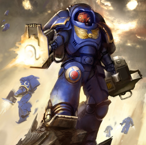 File:An Inceptor of the Ultramarines Chapter unleashes the wrath of the Emperor.png