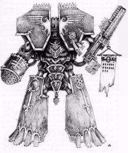 Imperator Class Titan sketch
