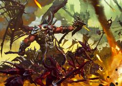 Skarbrand Daemon Horde