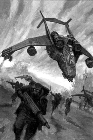 Valkyrie Assault Carrier & Stormtroopers