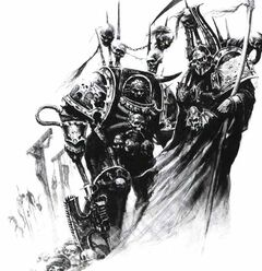Night Lords Sorceror and Terminator