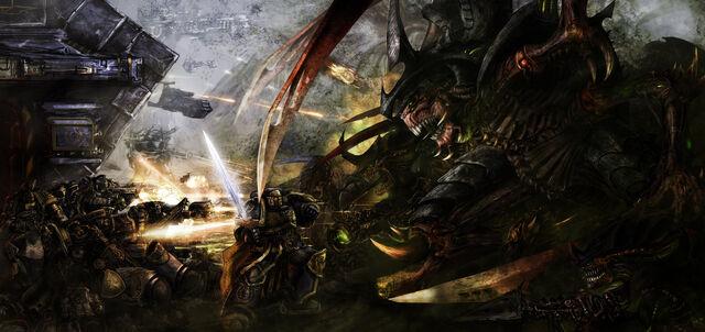 File:Battle for macragge by slaine69.jpg