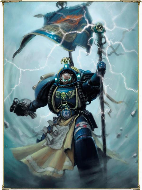 Games Workshop Warhammer 40k Ultramarines Captain Sicarius Helmet Hand Bit New