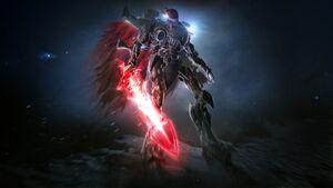 Warhammer 40,000 Dawn of War 3, Taldeer, Wraith knight