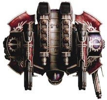 Legio Vulpa Warlord Titan (Top)